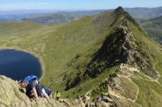 Classic Mountain Walk – Helvellyn via Striding Edge