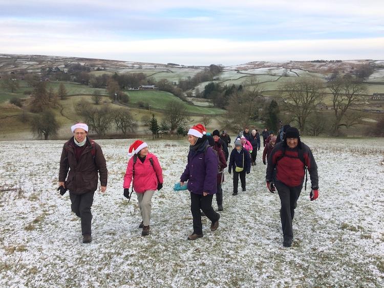 Guided Christmas Pub Walks Yorkshire Dales | TeamWalking | Mark Reid | The Inn Way