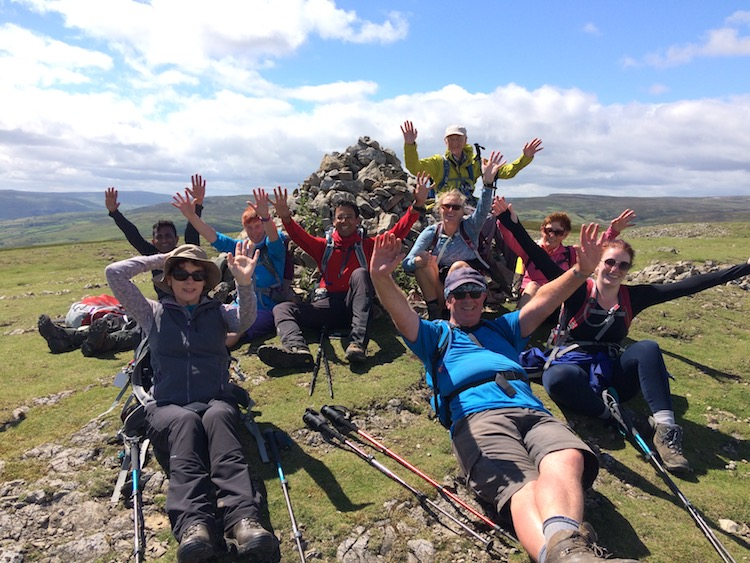 Coast to Coast reunion guided walking weekend