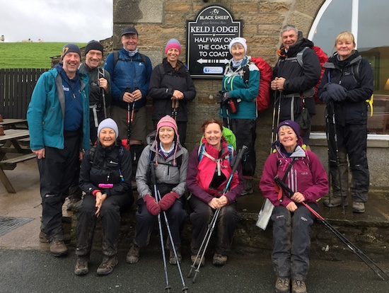 Wainwright's guided Coast to Coast walk | coast to coast packhorse | mark reid teamwalking