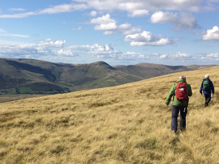 Compass and Contours courses in the Yorkshire Dales | TeamWalking | Navigation Skills