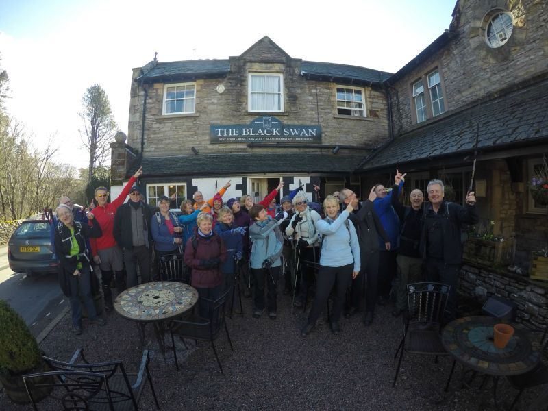 Boots and Beer Walking Weekend Yorkshire Dales Howgill Fells   TeamWalking