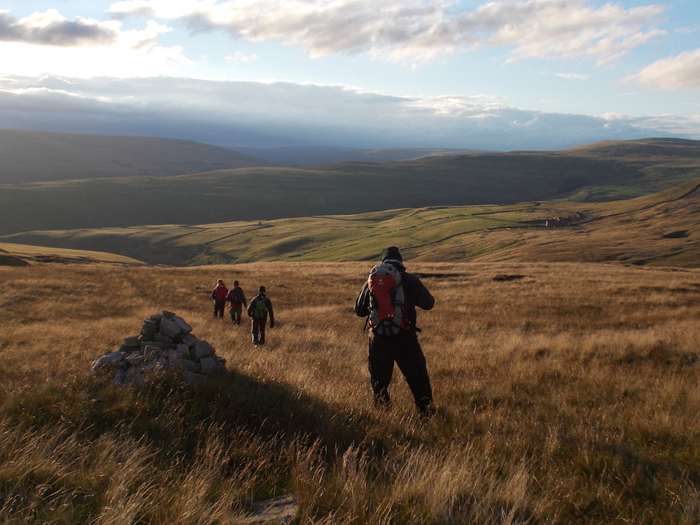NNAS Gold Navigation Skills courses in the Yorkshire Dales | TeamWalking | Map and Compass Skills | Hill Skills