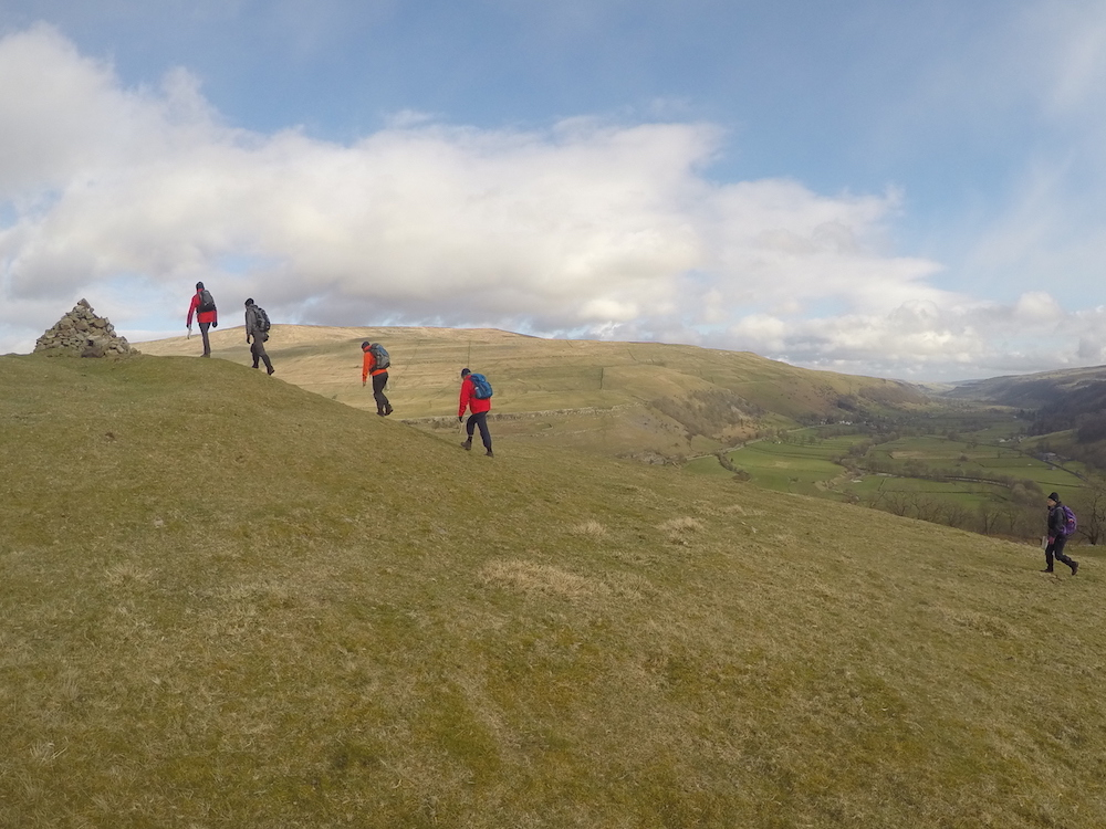 NNAS Silver Navigation Skills courses in the Yorkshire Dales | TeamWalking | Map and Compass Skills | Hill Skills