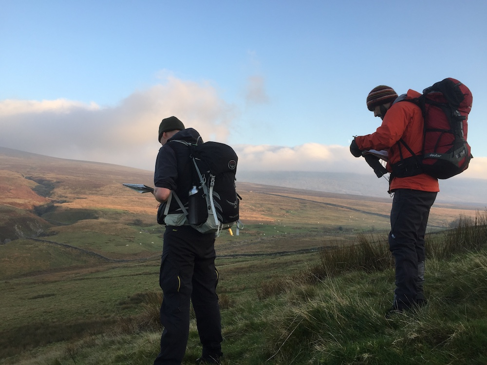 Advanced Navigation Skills courses in the Yorkshire Dales | TeamWalking | Mountain Leader