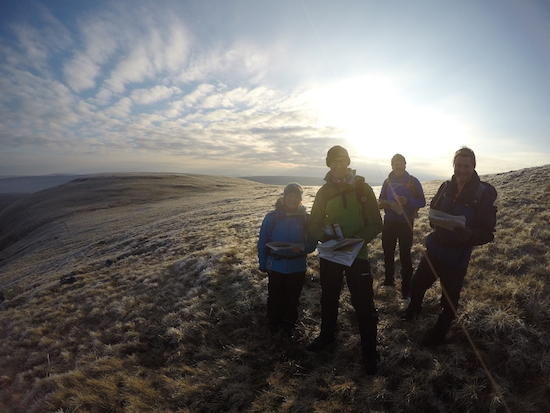 NNAS navigation skills courses in the Yorkshire Dales | TeamWalking