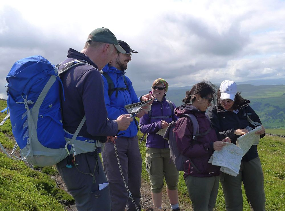 NNAS Navigation Skills course Bronze Yorkshire Dales