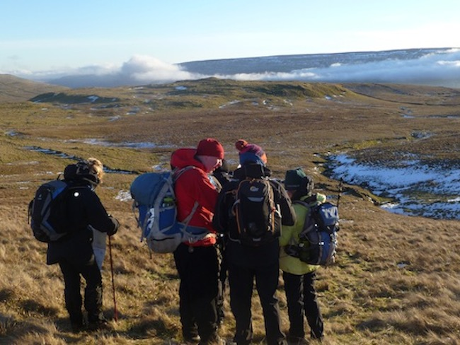 Relocation Skills courses in the Yorkshire Dales | TeamWalking | Navigation Skills