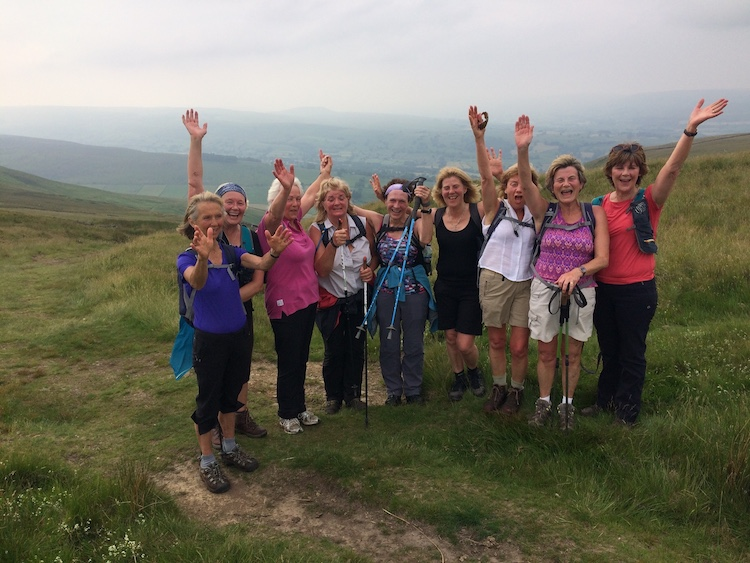 Guided Yorkshire Square Walk challenge walk | Wensleydale | TeamWalking