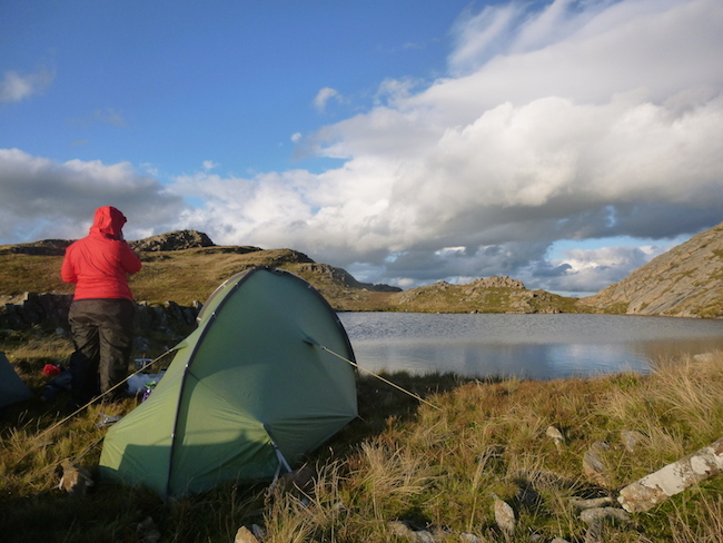 Wild Camping trips Lake District | Wild Camping trips Scotland | TeamWalking