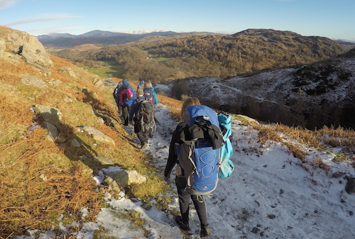 Winter Backpacking Camping Walking Weekend Lake District | TeamWalking
