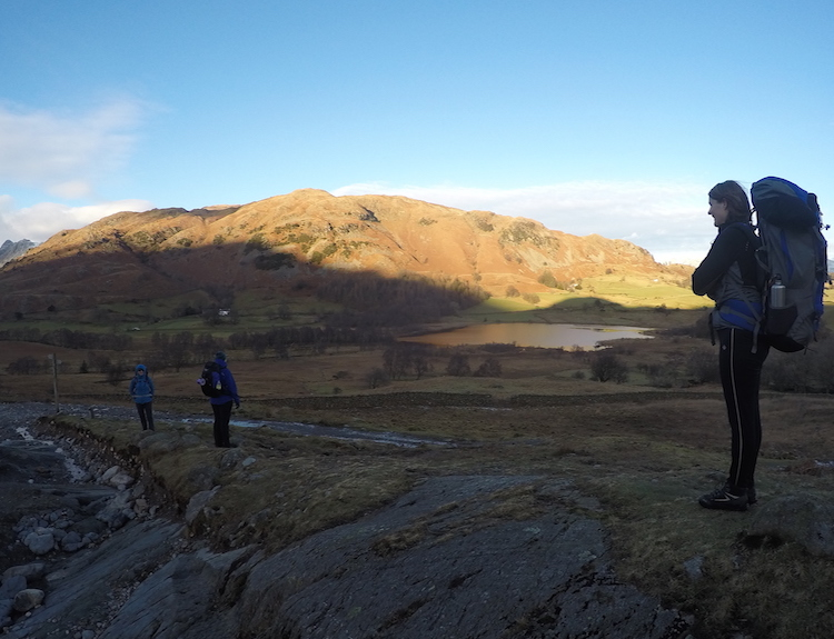 Winter Backpacking Camping Walking Weekend Lake District | TeamWalking