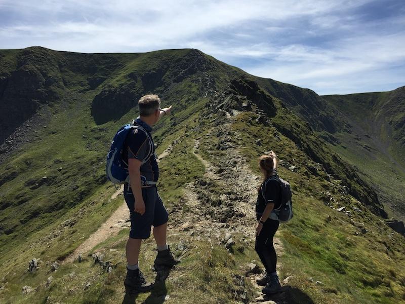 Helvellyn Moonlight Walk Lake District | TeamWalking