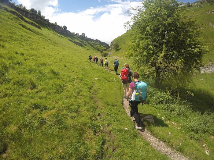 Guided Derbyshire Six Dales challenge walk | Peak District | TeamWalking