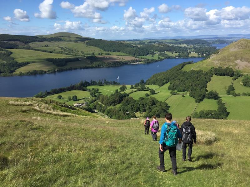 Guided Ullswater Way challenge walk | Lake District | TeamWalking