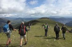 Guided Mountain Walk Pillar High Level Route shamrock traverse Lake District | TeamWalking