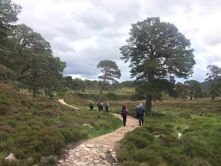 Scotland Mountain adventure trip guided walks